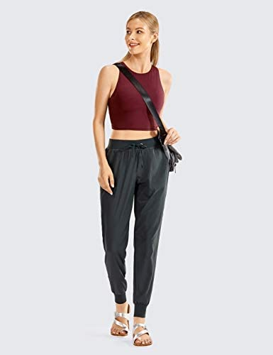 CRZ YOGA Women's Lightweight Joggers Pants