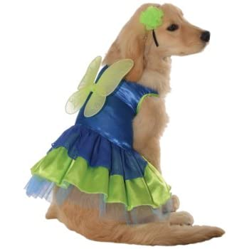 Rubieu0027s Green and Blue Fairy Pet Costume Large  sc 1 st  Amazon.com & Amazon.com: Sugar Plum Fairy Dog Costume Size: X-Small (10