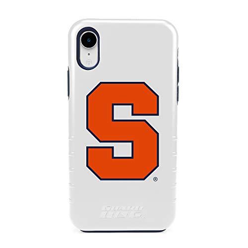 New Guard Dog Syracuse Orange - Hybrid Case for iPhone XR - White orange iphone xr case 7