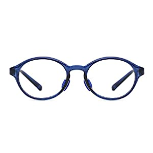 TIJN Kids Child Round Safety Flex Lightwegiht Optical Eyewear