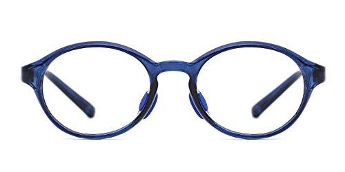 TIJN Kids Child Round Safety Flex Lightwegiht Optical - Eyeglasses Childrens Cheap