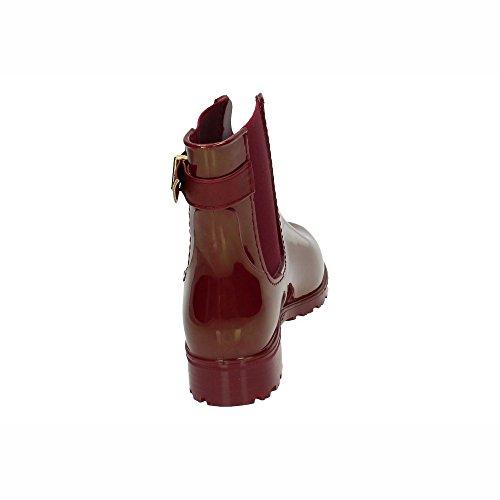 Mujer de 030500 Burdeos Botas Agua para XTI xqXEdPwvX
