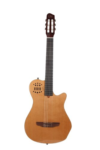 Godin 012817 Grand Concert SA Multiac Guitar (Natural HG) ()