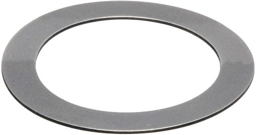 1075 Spring Steel Round Shim, Matte Finish, Spring Temper, AISI 1074/SAE 1074/AMS 5120H/QQ-S-700, 0.015