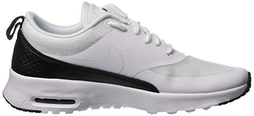 Femme White Max Black NIKE Thea Air Blanc White 001 Baskets nYqpIAf
