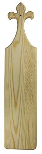- Fleur-de-Lis 22 Inch Greek Fraternity Sorority Wooden Paddle - MyGreekSwag