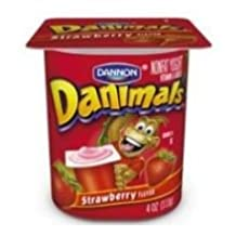 Danimals Strawberry Nonfat Yogurt