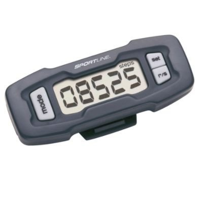 Sportline Step & Distance Pedometer - Colors May - Sportline Distance Pedometer