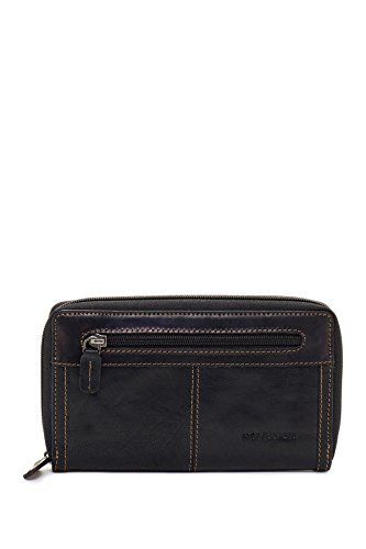 Jack Georges Voyager Large Zip-Around Leather Travel Wallet in Brown by Jack Georges (Image #2)