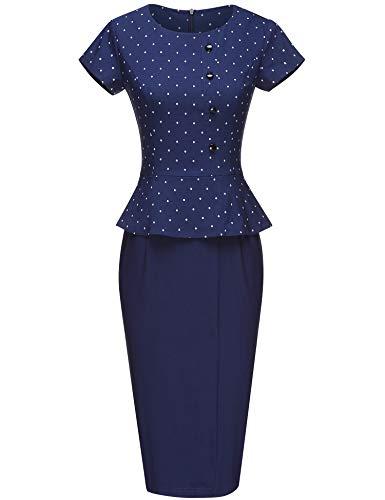 GownTown Women's Vintage 1950s Retro Rockabilly Prom Dresses Dark - Skirts Pencil Rockabilly