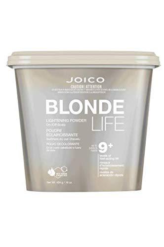 Joico Blonde Life Lightening Powder, 16 Ounce (Quick Blue Bleach And 30 Developer Ratio)