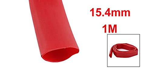 Uxcell a15060100ux0571 Dual-Wall 3:1 Adhesive Lined Waterproof Heat Shrink Tubing 5//8 Inner Diameter 1 m
