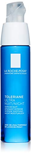 (La Roche-Posay Toleriane Ultra Soothing Night Cream for Very Sensitive Skin, 1.35 Fl. Oz.)