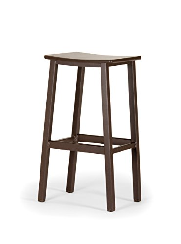 Telescope Casual Avant MGP/Aluminum Bar Stool, 2 Pack, Beachwood, Textured Beachwood Frame Finish
