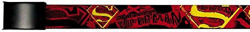 Superman DC Comics Superhero Comic Font Name And Logo Web Belt Chrome