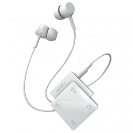 ME-200P Overture Personal Sound Amplifier - Lightweight, Rechargeable with Volume Control and Earphones