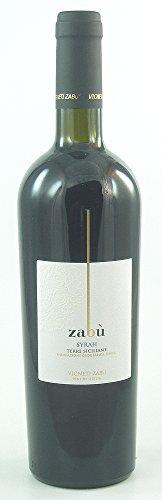 Vigneti Zabu Syrah IGT 2014, trockener Rotwein aus Sizilien