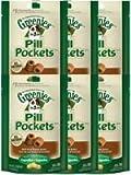 Greenies Canine Pill Pockets Peanut Butter Capsule 30/pk – 6 Pack, My Pet Supplies