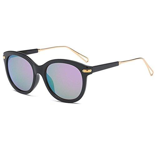 Aoligei La tendance des hommes et des femmes lunettes de soleil lunettes de soleil de couleur réelle Big Shing noTUkXfSqj