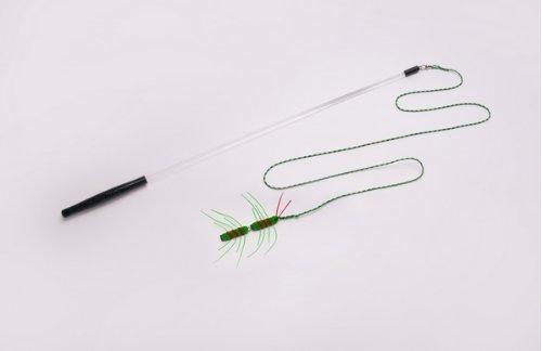 Neko Flies Kattipede (Centipede) with Rod by Neko Flies