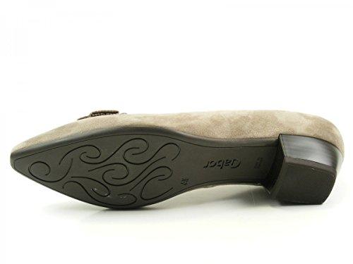 Gabor 55-132 Zapatos de tacón de material cuero mujer Rot