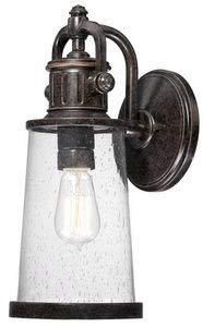 Quoizel SDN8407IB Steadman Outdoor Wall Lantern Wall Mount Lighting, 1-Light, 100 Watt, Imperial Bronze (16