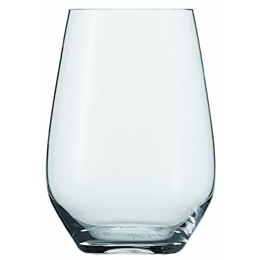 Schott Zwiesel Tritan Crystal Glass Forte Collection Universal/Cocktail Tumbler, Stemless Wine Glass, 19.1-Ounce, Set of 6