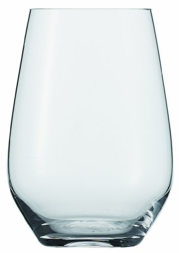 Schott Zwiesel Crystal Glass Tritan Crystal Glass Forte Collection Universal/Cocktail Tumbler, Stemless Wine Glass, 19.1-Ounce, Set of 6 (Glass Wine Collection)