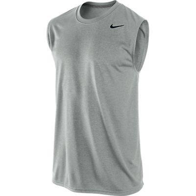 Nike Dri-Fit Legend Men's Sleeveless Shirt Tank Top Gray Size M