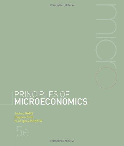 Principles of microeconomics s king n mankiw j gans principles of microeconomics s king n mankiw j gans 9780170191708 amazon books fandeluxe Images