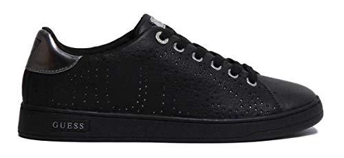 Ds19gu01 Mod Sneaker Bassa Nero Donna Col Carterr Pelle Guess Scarpe 4IqFzz