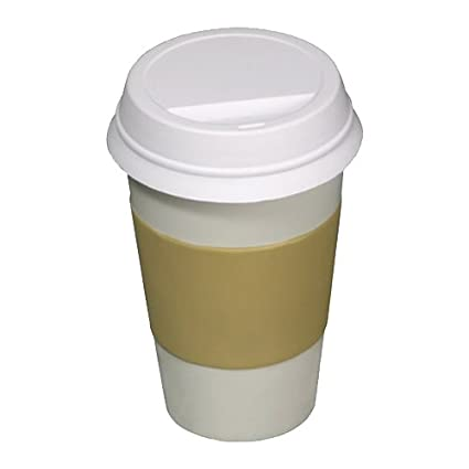 Amazon Com Coffee To Go Cup Stress Reliever Travel Mugs Kitchen Dining
