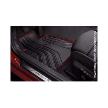 Amazon Com Bmw All Weather Front Rubber Floor Mats 325