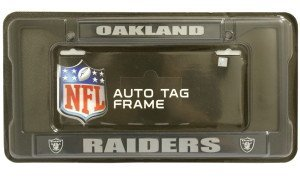 Oakland Raiders Black Frame