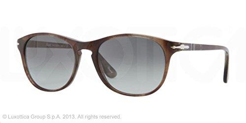 4b075a5fbea7e Persol PO3042S Sunglasses-972 71 Havana Smoke (Crystal Grad Gray ...