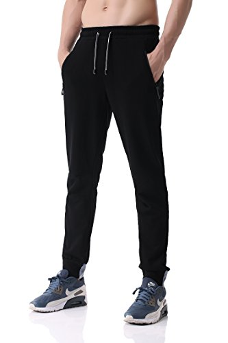 Pau1Hami1ton PH-24 Jogger For Men (M, Black) (What Is The Best Brand Of Basketball)
