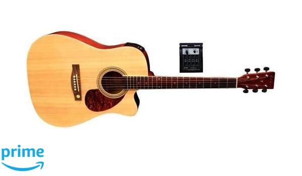 Tenson F501320 - Guitarra electro-acústica D-10CE, color natural: Amazon.es: Instrumentos musicales