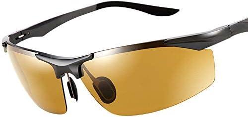CDKET 男性用カラー偏光サングラス、屋外トラベルフィッシングサングラス、運転席駆動ミラー CDKET