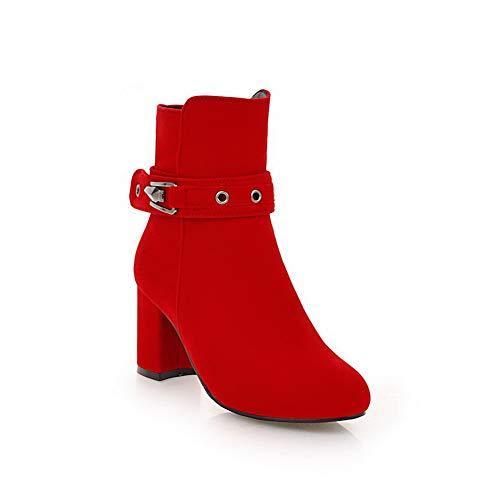 Abl11046 Balamasa Femme Compensées Red Sandales qXUX1wz