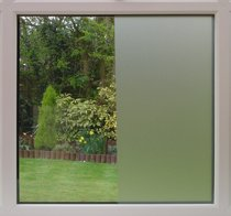 White Frosted Window Film - Size 60''x 100' by SmartChabon (Image #2)
