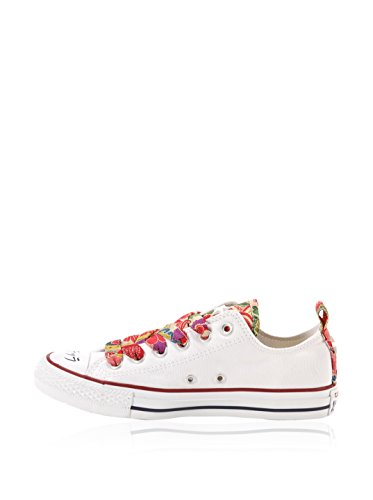 Converse Zapatillas All Star Ox Canvas/Txt Ltd Rojo EU 40