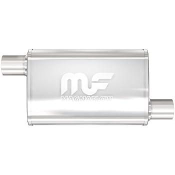 "4x9 Oval 11/"" Body MagnaFlow Muffler SS 11375 2.25 O//O"