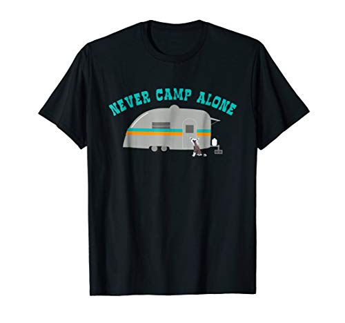Chinese Crested Shirt Dog RV Funny Camping Travel Trailer