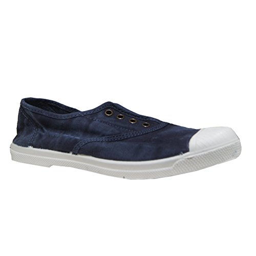 Tessuto Slipper Navy Natural World 102-E 40 Blue