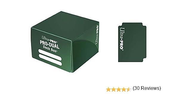 Ultra Pro – Juego de Cartas Deckbox Pro Dual C30 (Verde): Amazon.es: Juguetes y juegos