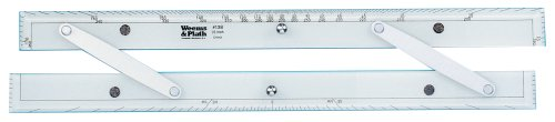 - Weems & Plath Marine Navigation Parallel Ruler (Aluminum Arms, 18-Inch)
