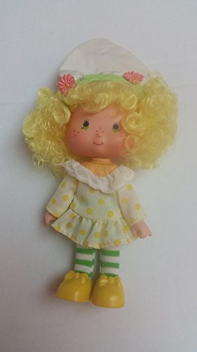 Vintage Lemon Meringue (1979) (Doll, Hat, Outfit,Tights, & Shoes) - Strawberry Shortcake (Retired) Doll - Collectible Replacement Toy - Loose (OOP Out of Package & Print) -