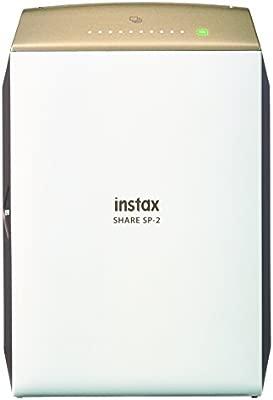 Fujifilm Instax Share SP-2 - Impresora para smartphones (62 mm x 46 mm, 320 dpi, 2W, capacidad de impresión - 100 fotos, USB cable, WiFi, color), ...