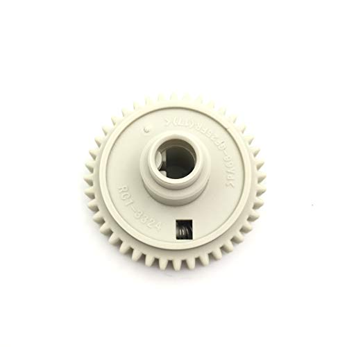 OKLILI 2PC X RC1-3324 RC1-3325 RC1-3324-000 RC1-3325-000 Upper Fuser Roller Gear Drive Gear Assembly 40T for HP 4200 4240 4250 4300 4350 4345