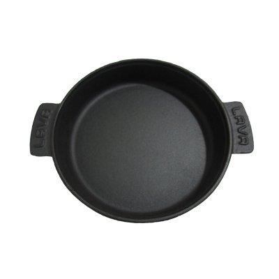 Arcata, Round Hot Pot, 23 oz, 6 3/4'' Dia, Black, Cast Iron, Each